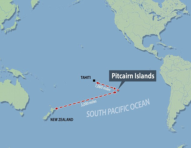 Pitcairn Location