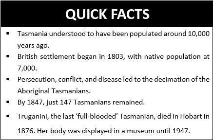 Quick Facts Truganini